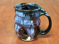 Spiral Cosmic Mug, roughly 12-14oz size, Inspired by a Planetary Nebula (SK4581)