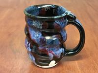 Spiral Cosmic Mug, roughly 12-14oz size, Inspired by a Planetary Nebula (SK4586)
