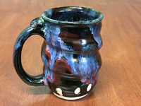Flawed Cosmic Mug, roughly 12-14oz size, Inspired by a Planetary Nebula (SK4596)