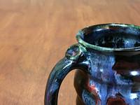 Flawed Cosmic Mug, roughly 12-14oz size, Inspired by a Planetary Nebula (SK4596)