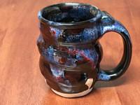 Cosmic Mug, roughly 8-10oz size, Inspired by a Planetary Nebula (SK5251)