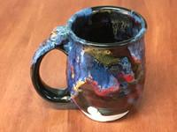Cosmic Mug, roughly 10-12oz size, Inspired by a Planetary Nebula (SK5270)