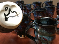 Random 'Tapered' Spiral Cosmic Mug