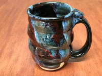 Cosmic Mug, roughly 14-16oz size, Inspired by a Star-Formation Nebula (SK5723)