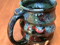 Cosmic Mug, roughly 12-14oz size, Inspired by a Star-Formation Nebula (SK5725)