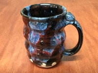 Cosmic Mug, roughly 16-18oz size, Inspired by a Planetary Nebula (SK5733)