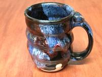 Cosmic Mug, roughly 10-12oz size, Inspired by a Planetary Nebula (SK5735)
