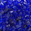 Ocean Blue Crushed Fire Glass