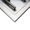 """CSA Certified Burner Pan Kit - 30"""" x 10"""" H-Burner - Corner"""