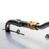 """CSA Certified Burner Pan Kit - 30"""" x 10"""" H-Burner - Pipe Connector"""
