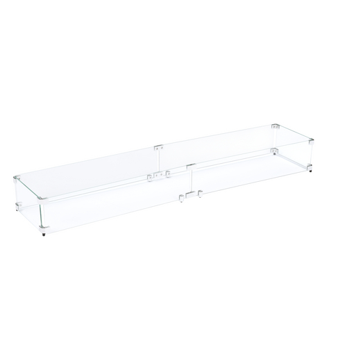 "Flame Guard for 48""x6"" Linear Burner Pan (53.5"" x 11.5"" x 6"")"