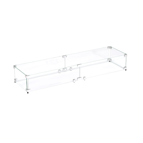 """Flame Guard for 36""""x6"""" Linear Burner Pan (40.5"""" x 10.5"""" x 6"""")"""