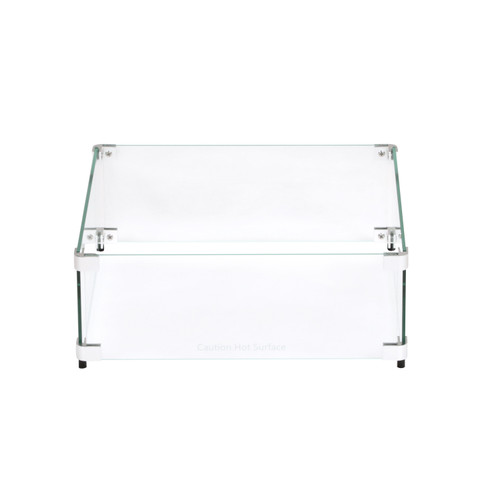 """Square Flame Guard for 12"""" x 12"""" Fire Pit"""