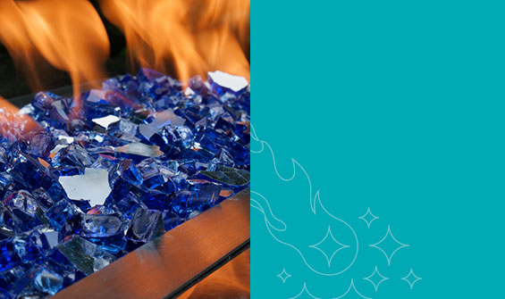 Tempered Fire Glass