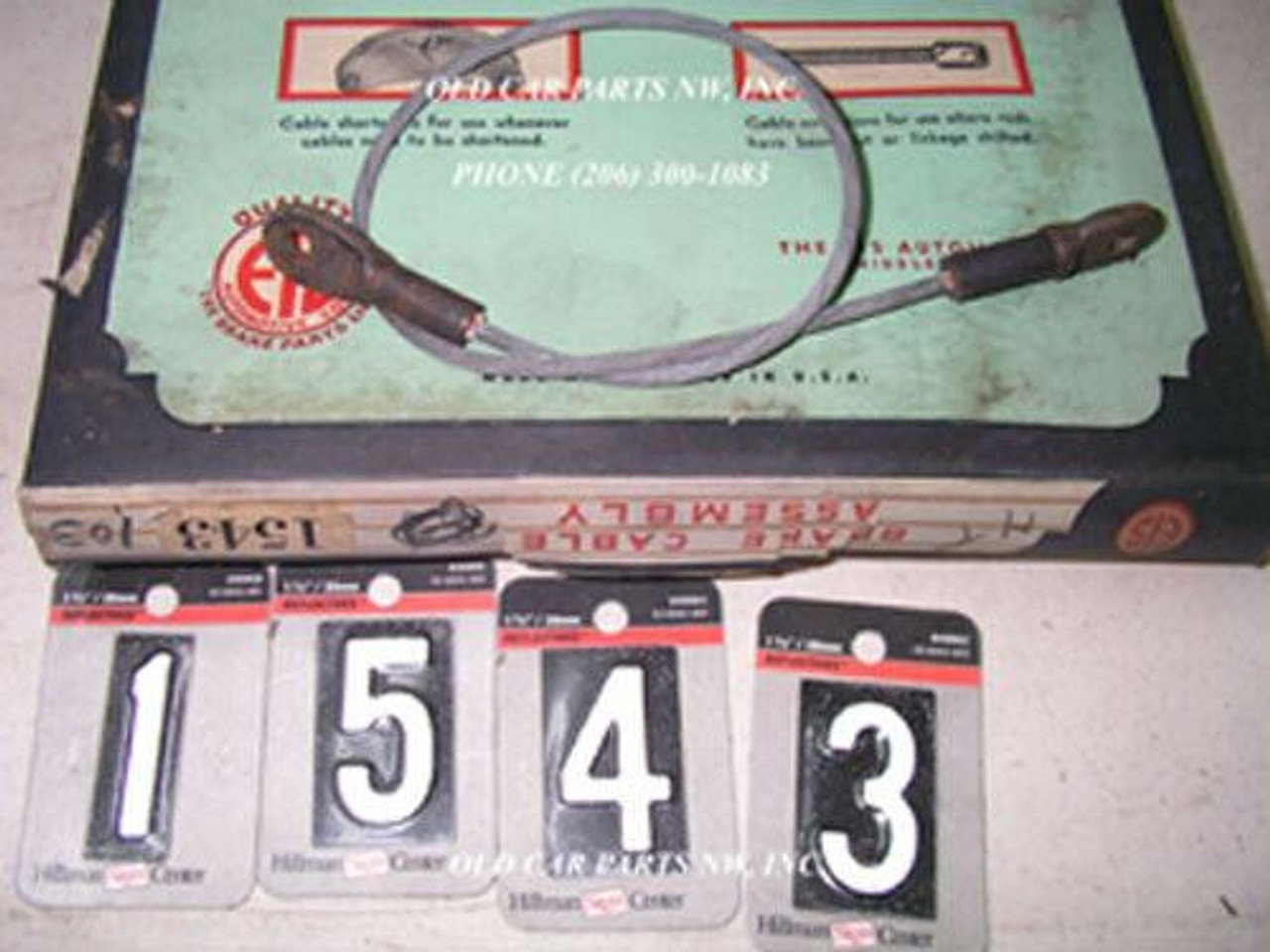 Studebaker Commander 1941 NOS EIS Hand Brake Cable 1543  made in USA