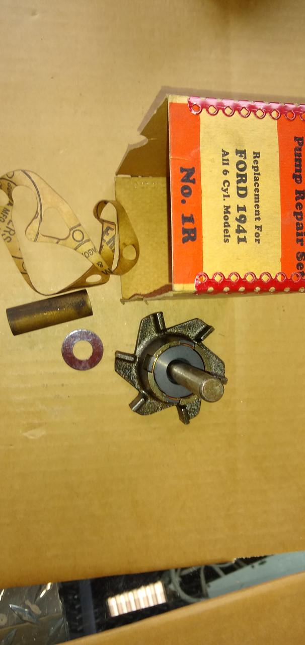 Ford 1941 6 Cyl. Wohlert Water Pump Repair Kit P/N 1R