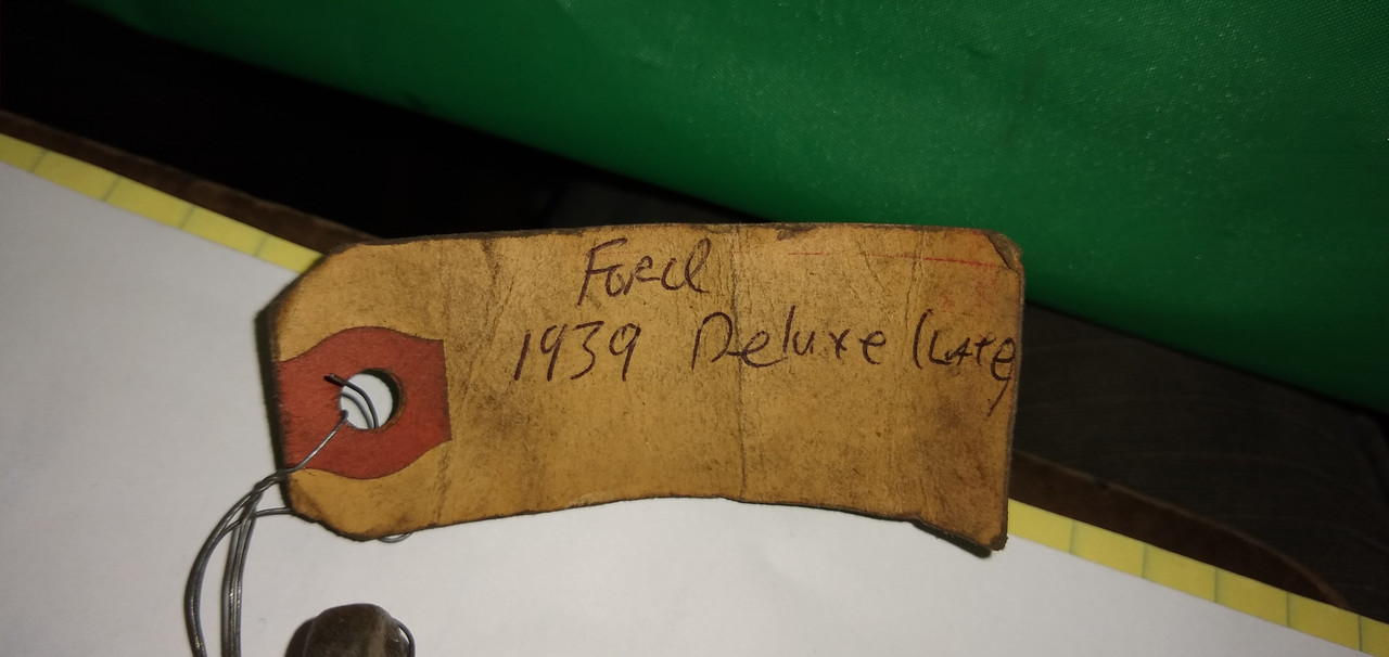 Ford Deluxe 1939 Auxiliary Hood Latch P/N 91A-16892-B