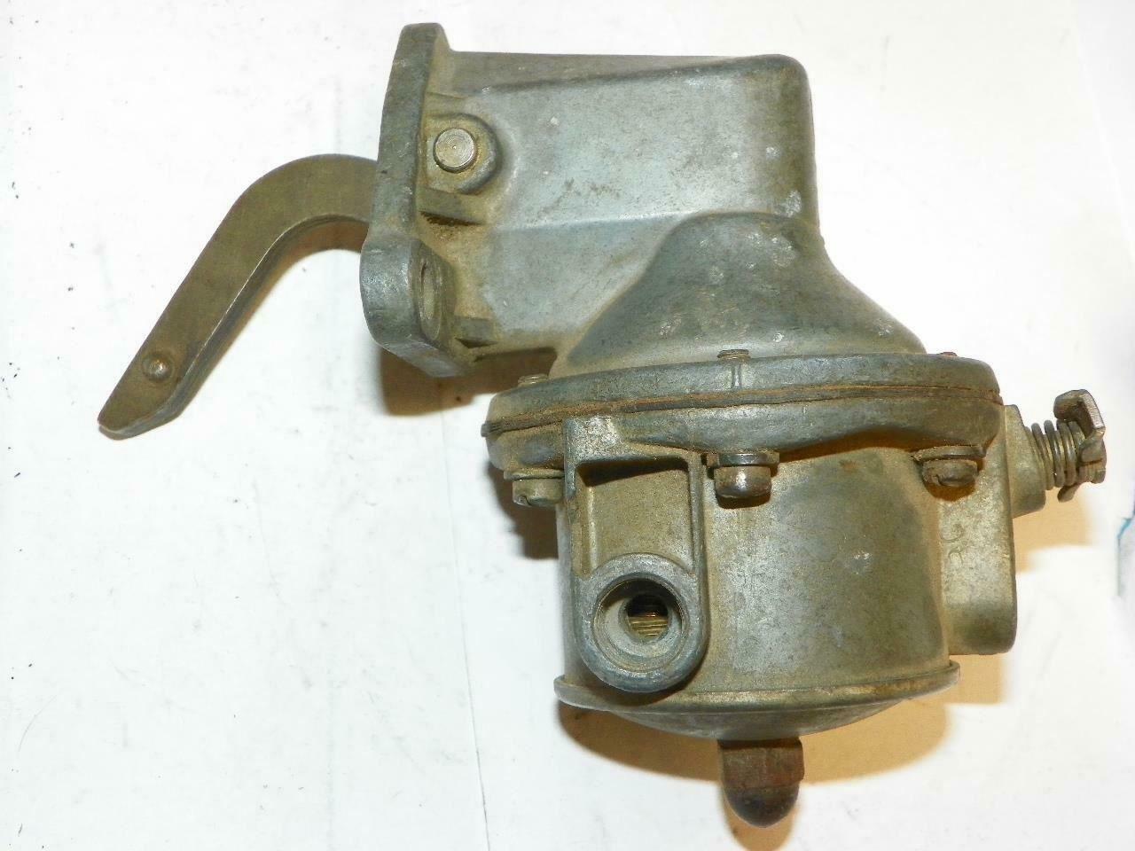 NOS!! Carter Fuel Pump w/ Filter M825SA 1934-1948 Ford V8 1939-1948 Mercury #591