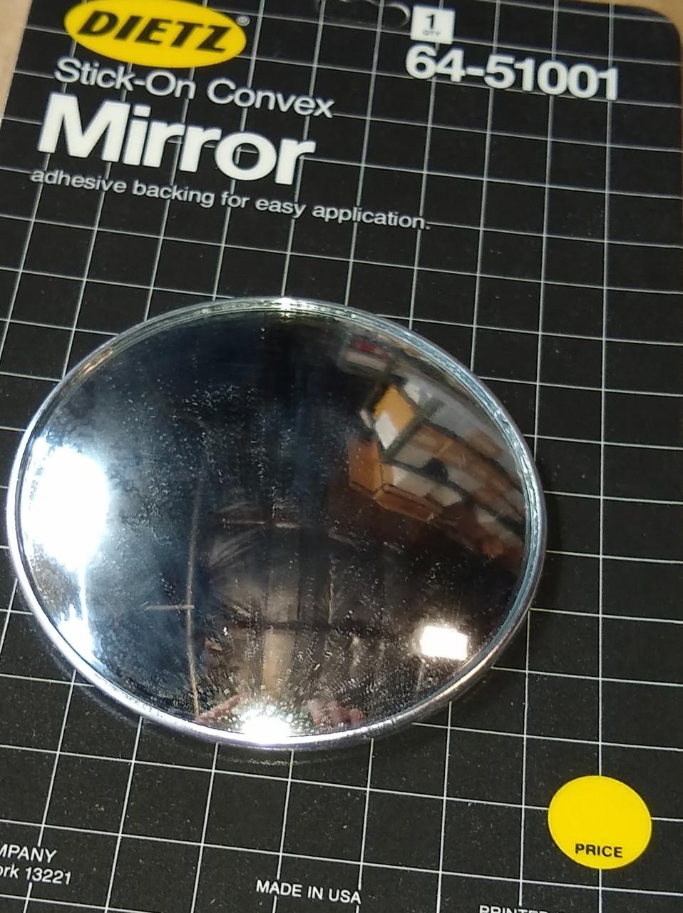 Dietz Stick-On Convex Mirror Part No.:  64-51001