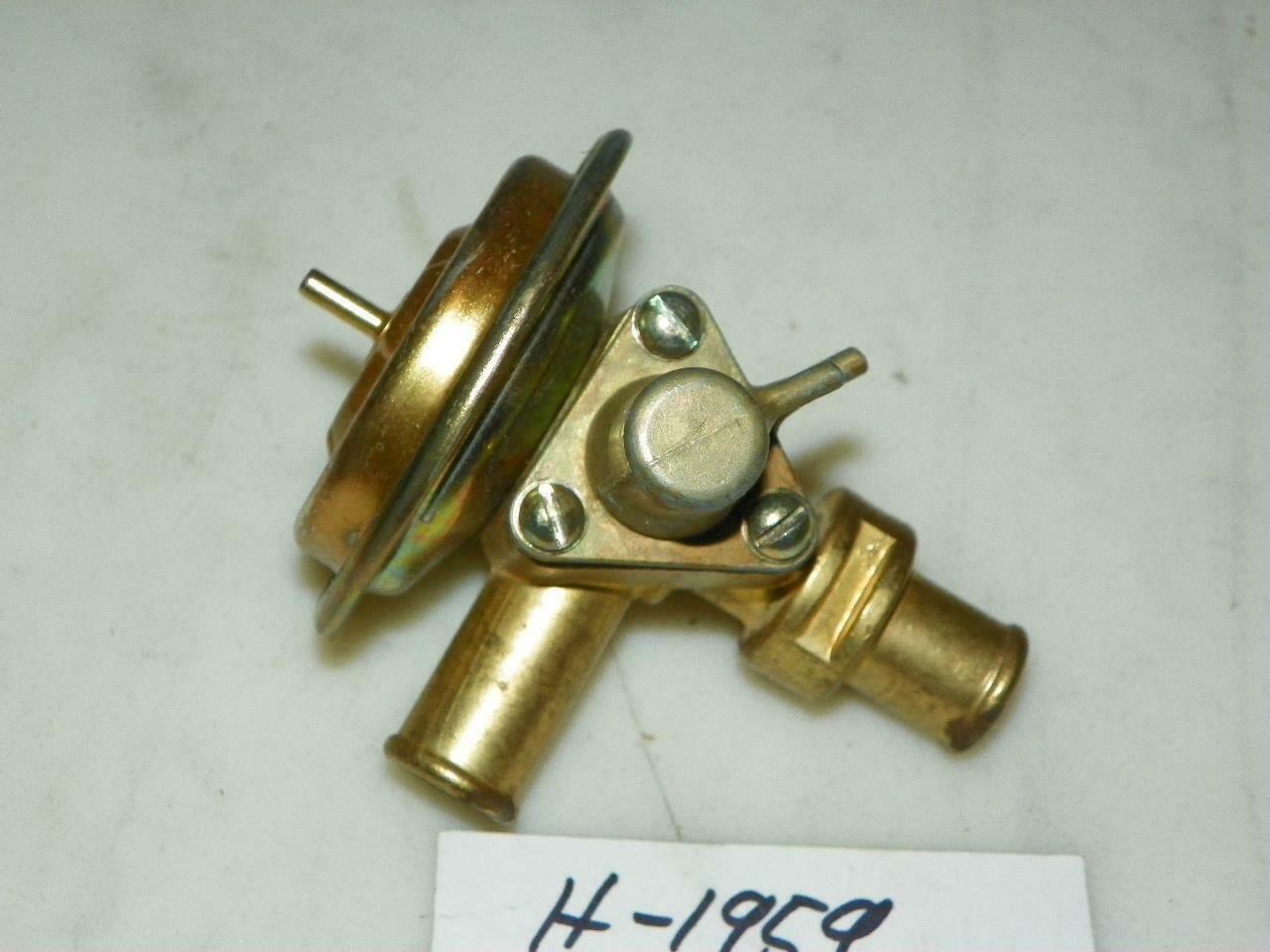Buick 1969 -1970 NOS Heater Control Valve w/ Sensing  Unit H1959 OEM 1230573