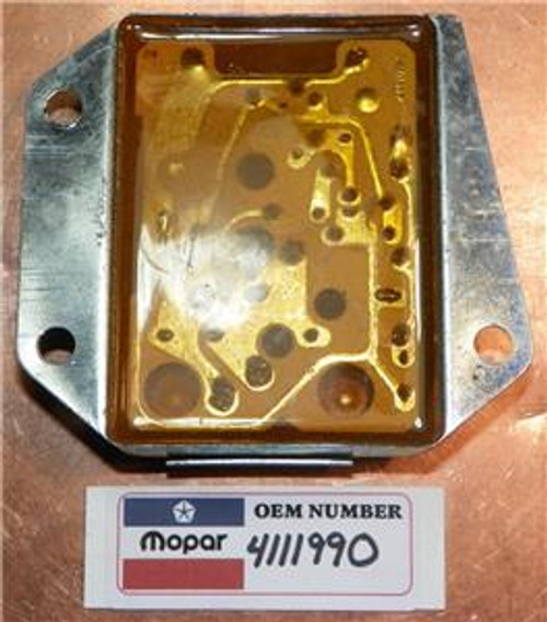 Mopar! 1970-1987 NOS 12V Voltage Regulator Stamped 4111990