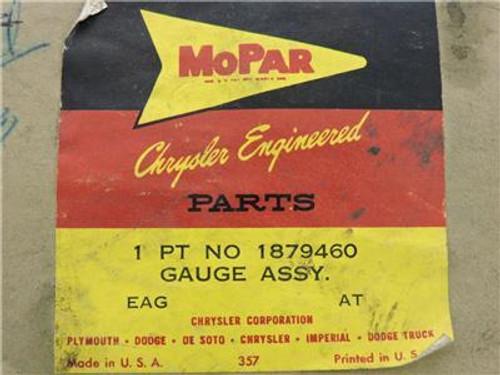 DeSoto 1959 NOS OEM Genuine MoPar Fuel Gauge 1879460 In Original Box Made in USA