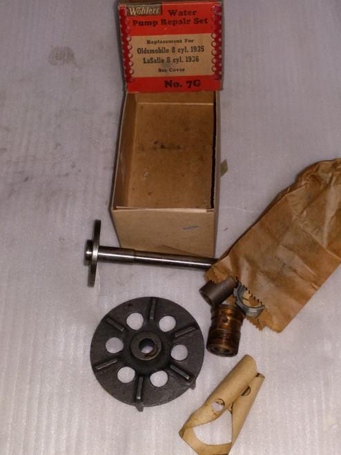Oldsmobile 8 Cyl. LaSalle 1935 1936 Wohlert Water Pump Repair Kit Part No.:  7G
