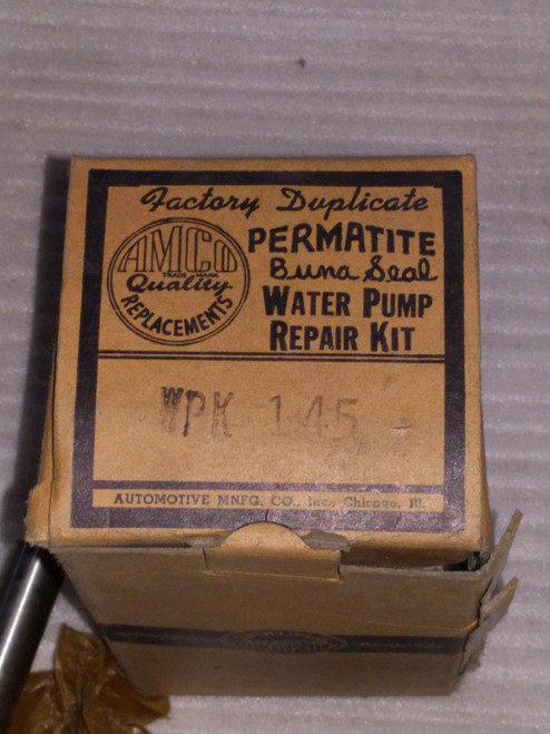 Chrysler AMKO Water Pump Repair Kit Part No.:  WPK145