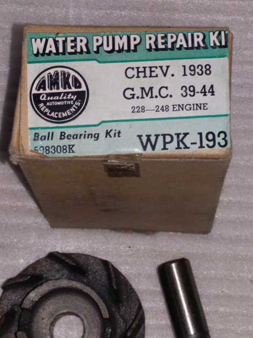 Chevrolet GMC 1938 - 1944 AMKO Water Pump Repair Kit Part No.:  WPK193