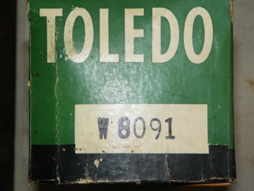 Toledo Water Pump Repair Kit Part No.:  W8091