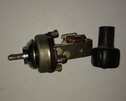Ford  1956 Windshield Wiper Switch -- FoMoCo Part No.: B6C-17470-A