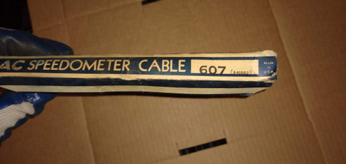 AC Speedometer Cable Part No. Type:  607