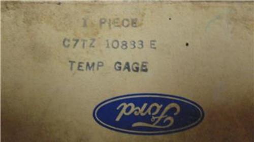 Ford Truck & Van 1967-1970 NOS OEM Ford Temperature Gauge C7TZ-10833-E