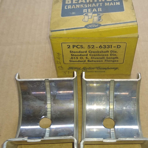 Ford Flathead V8-60 1937-1939 Bearings Crankshaft Main Rear Part No.:  52-6331-D