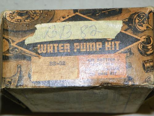 Master Water Pump Repair Kit Part No.:  BB82