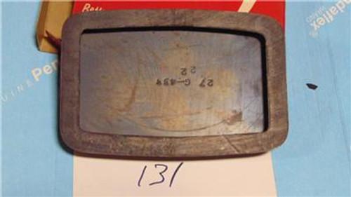Buick 50 60 70 1953-1955 NOS Power Brake Pedal Pad  Repl 1161440 Part No.:  131