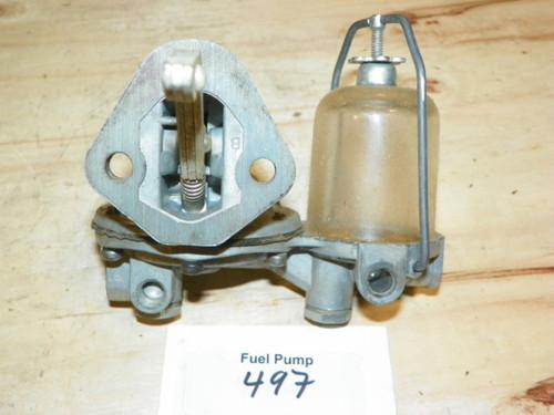 AC Fuel Pump Part No.: 497
