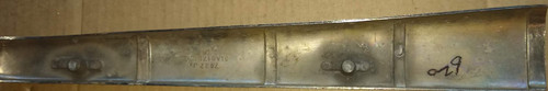 Ford 1946-1948 Deluxe Upper Grille Piece 51A8171 LH Driver Side Left Hand