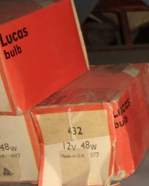 Lucas 12V 48W Special BPF Bulb Part No.:  432