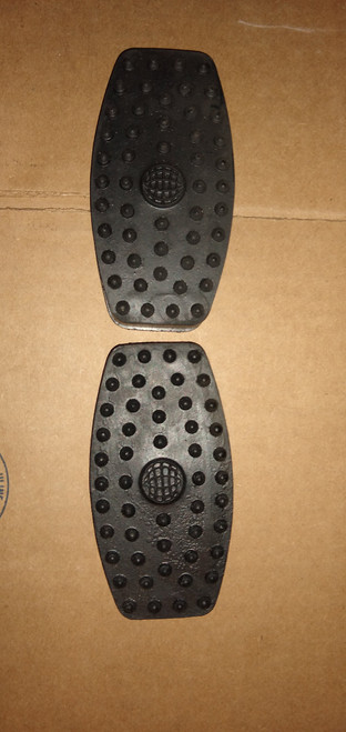 Chevrolet 1925-1936 One Pair Pedal Pads:  S-257
