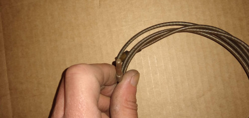 NOS OEM VALLEY-FORGE Speedometer Cable Part No.:  5376