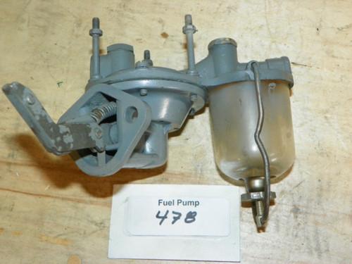 Fuel Pump Part No.: 478