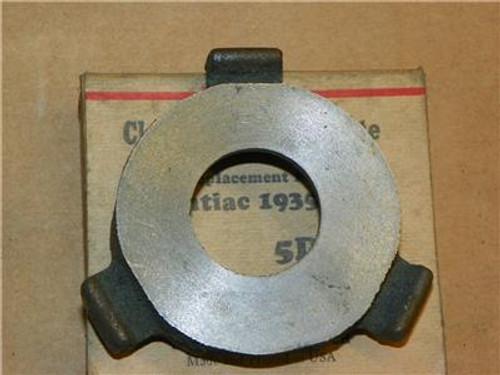 Pontiac 1935-1938 NOS Wohlert Clutch Release Bearing Plate 5DX7 Repl 497087