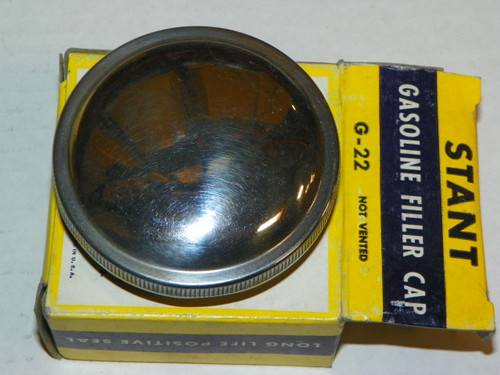 1954-55 Chrysler, Dodge, Desoto; 1957-59 Lincoln NOS Stant Gas Cap:  G-22