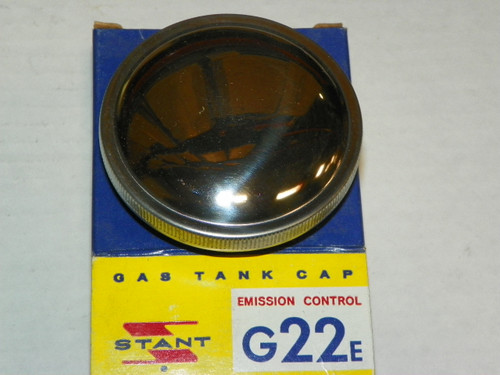 1962-1974 Ford T-bird NOS Chrome Stant Gas Cap: G22E