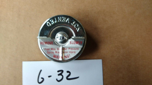 """Buick 1964-66 NOS Fuel Gas Cap w/ Original """"S"""" Logo on Cap Stant G-32 made in US"""