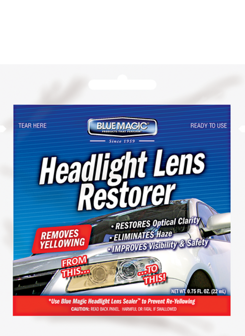 Bluemagic 75oz Headlight Lens Restorer Pack 100 725pk