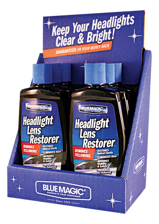 725CD-06 | Headlight Lens Restorer Counter Display