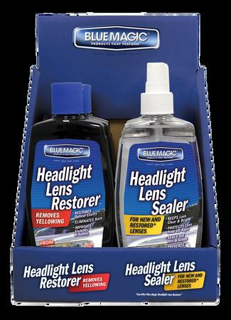 735CD-06 | Headlight Lens Restorer, 3 Ea, And Headlight Lens Sealer Counter Display, 3 Ea