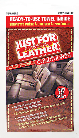 NA117 | Just For Leather Conditioner Towelette